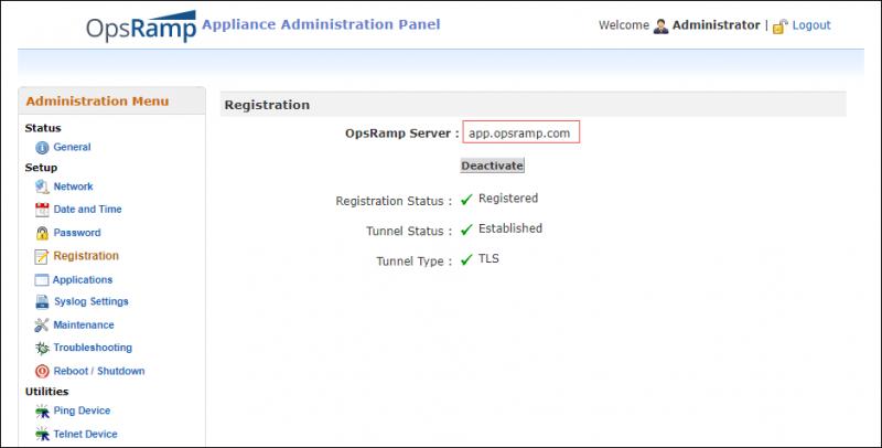 Registration URL