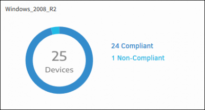 Patch Compliance Widget