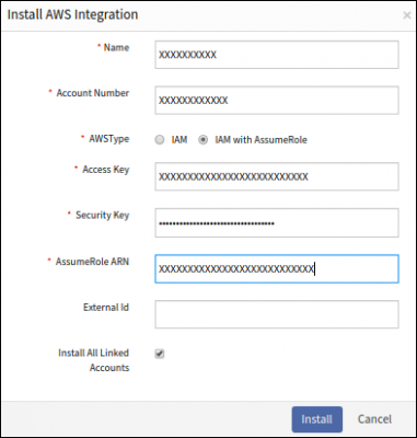 Install AWS Integration