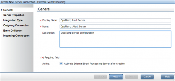 External Event Processing