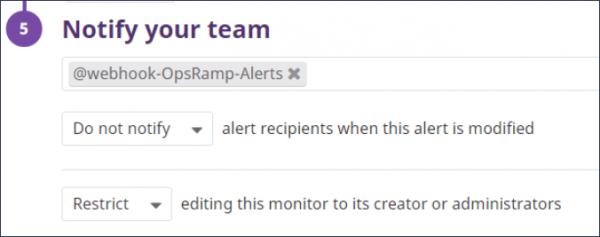 Datadog Notifications
